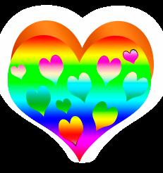 сердечко png, apipa.ru, радуга