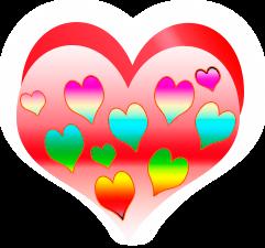 сердечко png, apipa.ru, розовое