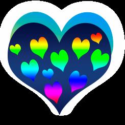сердечко png, apipa.ru, разноцветное