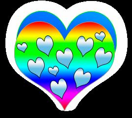 сердечко png, apipa.ru, много сердец